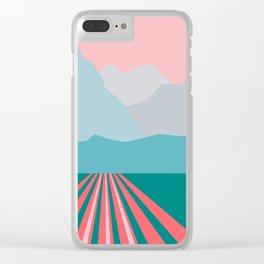 Farming Alaska Clear iPhone Case