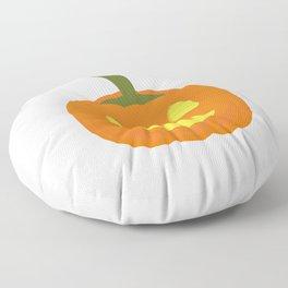 Classic light Halloween Pumpkin Floor Pillow