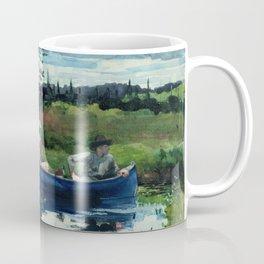 Winslow Homer - The Blue Boat, 1892 Coffee Mug