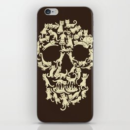 Catskull iPhone Skin