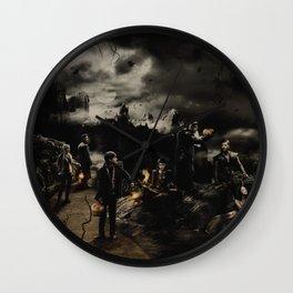 Halloween OUAT Wall Clock