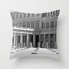Colonnes de Buren Throw Pillow