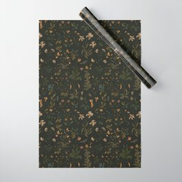 Old World Florals Wrapping Paper