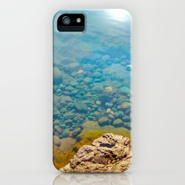 With Calm Comes Clarity iPhone Case