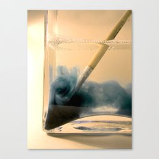 Paint Brush Wash Up Canvas Print