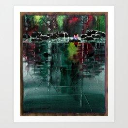 "Watercolor ""I See You"" Art Print"