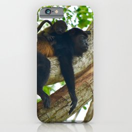 Momma Monkey & Baby iPhone Case