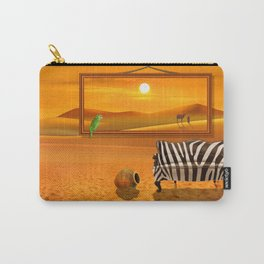 Live Exotic Carry-All Pouch
