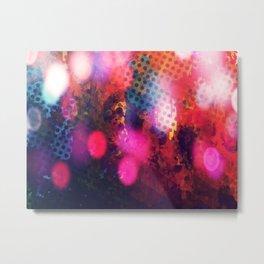 coloured bokeh Metal Print
