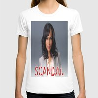 scandal T-shirts featuring SCANDAL by I Love Decor