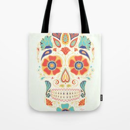 Day of the Dead Sugar Skull Candy Tote Bag