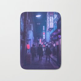 Tokyo Nights / One Minute To Midnight / Liam Wong Bath Mat
