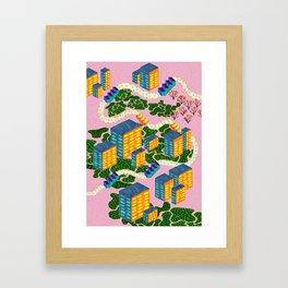Höghus Framed Art Print