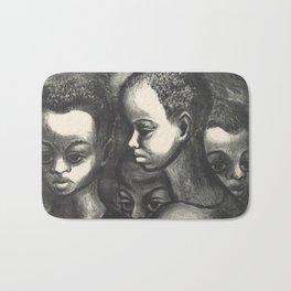 African American Art Bath Mat