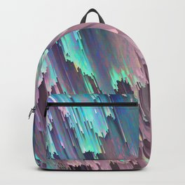 Iridescent Shadows Glitches Backpack