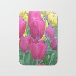 Sweet Spring Tulips Bath Mat