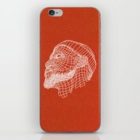 lebron iPhone & iPod Skins featuring Basketball King by NINE PROJECT