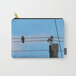 Pigeons on a Wire Carry-All Pouch