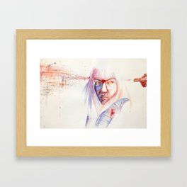 Read My Mind Framed Art Print