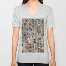 Pebble Rock Flooring II Unisex V-Neck