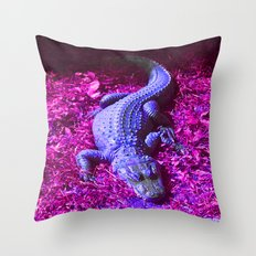 z o o l i z a r d Throw Pillow