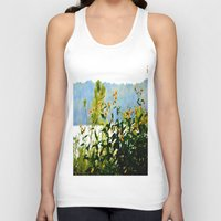 clear Tank Tops featuring Naturally Clear by HourAfterOur Collective
