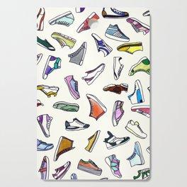 sneakers addiction Cutting Board