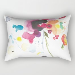 Abstract Bouquet Rectangular Pillow
