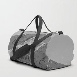 Snowy Alaskan Mountain Duffle Bag