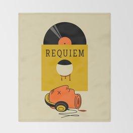requiem Throw Blanket