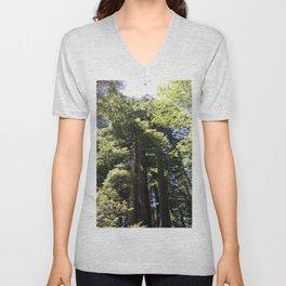 Redwood Treetops Unisex V-Neck