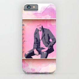 maestro in pink iPhone Case