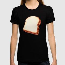 Peanut Butter & Jelly Sandwich Pattern T-shirt