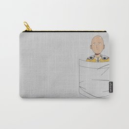 Caped Baldy Pocket Tee Carry-All Pouch