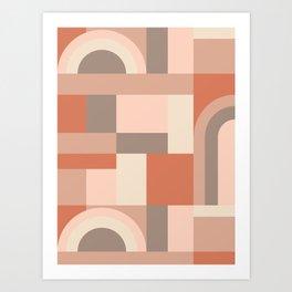 Softy Blocks #society6 #pattern Art Print