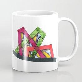 Synagogue Serendipity Geometric Architecture 76 Coffee Mug