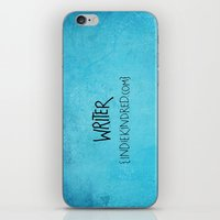writer iPhone & iPod Skins featuring Writer by Indie Kindred