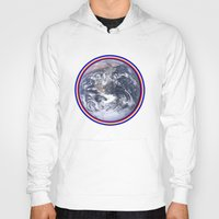 earth Hoodies featuring Earth by Spooky Dooky