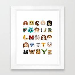 ABC3PO Framed Art Print