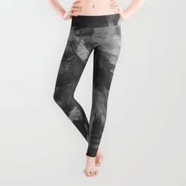 Native American Oglala Tribe 'American Horse' Chief portrait black and white American West photograph Leggings
