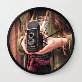 Take a photo Wall Clock