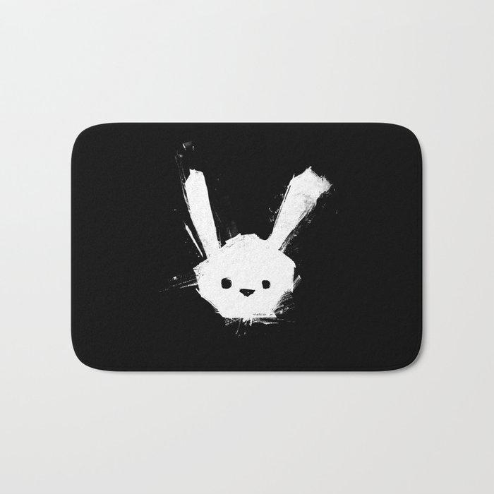 minima - splatter rabbit  Bath Mat