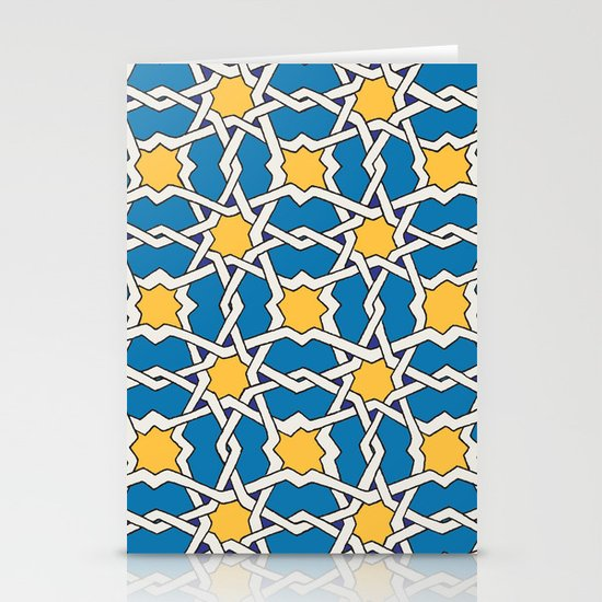 Morocco ornament Stationery Cards