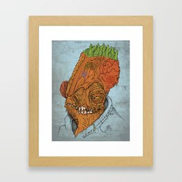 It's A Trap Framed Art Print