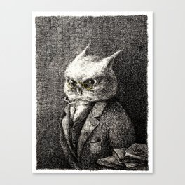 A Serious Hoot Canvas Print