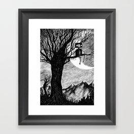 Lonely Robot Framed Art Print