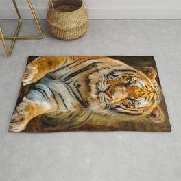 Tiger Art Rug