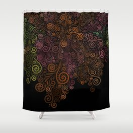 Rose is a rose is a rose.. Shower Curtain
