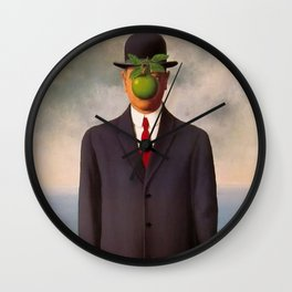 The Son of Man - Rene Magritte Wall Clock