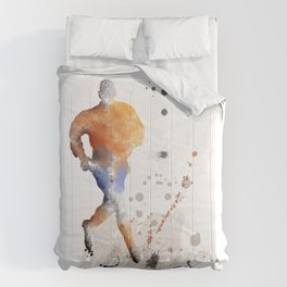 Soccer Player 7 Comforters